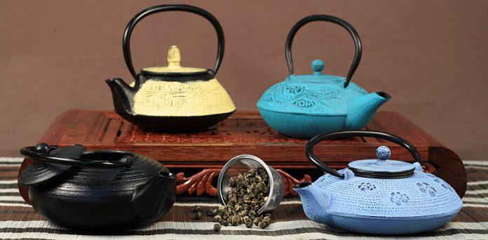 Секрет вкусного чая – чугунный чайник тэцубин