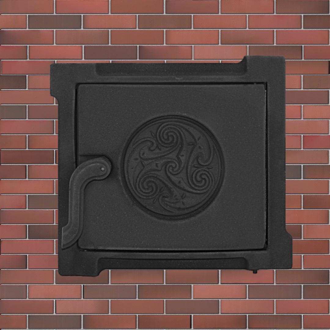 Когда печная дверка произведение искусства. Серия чугунных печных дверок «Кельты»