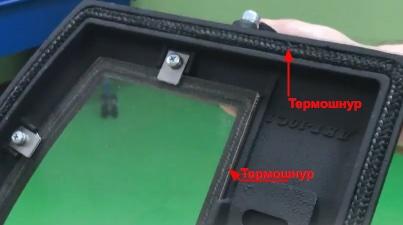 Основа герметичности печной дверки – термошнур