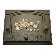 Дверка топочная каминная ДК-2Б, «Победа»