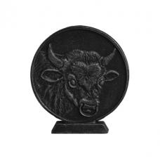 """Монета """"Год быка"""" на чугунной подставке"""