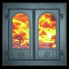 Дверка топочная каминная ДК-6С, «Горница»