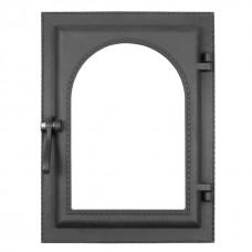 Дверка топочная каминная ДКУ-9С, «Камелёк», под стекло