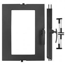 Дверка топочная ДТГ-5АС, «Сельга», под стекло