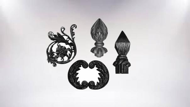 Декоративные элементы ворот и ограждений