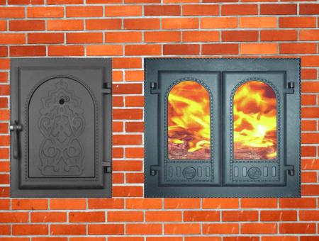 Каминные дверки